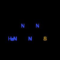 4-Methyl-6-(methylthio)-1,3,5-triazin-2-amine