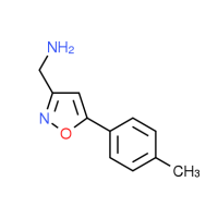 {[5-(4-Methylphenyl)isoxazol-3-yl]methyl}amine