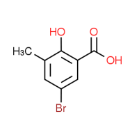 5-Bromo-2-hydroxy-3-methylbenzenecarboxylic acid