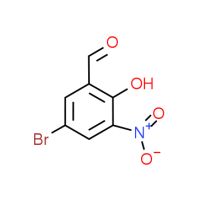5-Bromo-2-hydroxy-3-nitrobenzaldehyde