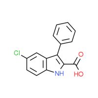5-Chloro-3-phenyl-1H-indole-2-carboxylic acid