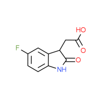 (5-Fluoro-2-oxo-2,3-dihydro-1H-indol-3-yl)-acetic acid