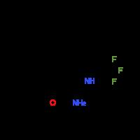 5-Phenyl-2-(trifluoromethyl)-1H-indole-7-carboxamide