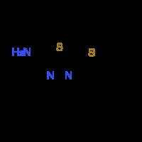 5-(Propylthio)-1,3,4-thiadiazol-2-amine