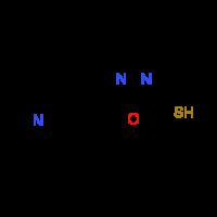 5-Pyridin-4-yl-1,3,4-oxadiazole-2-thiol