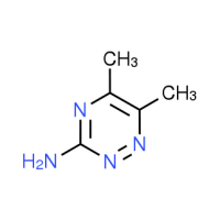 5,6-Dimethyl-1,2,4-triazin-3-amine