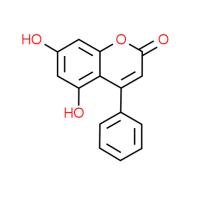 5,7-Dihydroxy-4-phenyl-2H-chromen-2-one