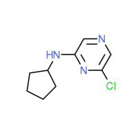 6-Chloro-N-cyclopentyl-2-pyrazinamine