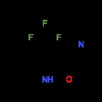 6-Methyl-2-oxo-4-(trifluoromethyl)-1,2-dihydro-3-pyridinecarbonitrile