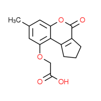 [(7-Methyl-4-oxo-1,2,3,4-tetrahydrocyclopenta[c]-chromen-9-yl)oxy]acetic acid