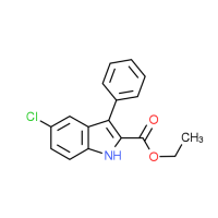 Ethyl 5-chloro-3-phenyl-1H-indole-2-carboxylate
