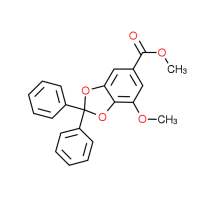 Methyl 7-methoxy-2,2-diphenyl-1,3-benzodioxole-5-carboxylate