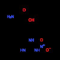 N~5~-[imino(nitroamino)methyl]-L-ornithine