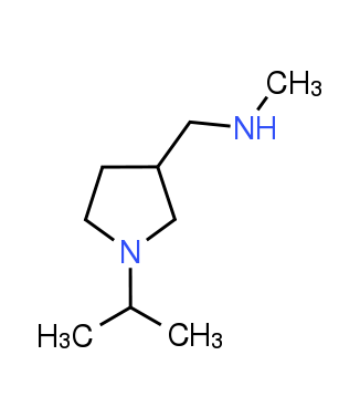 [(1-Isopropylpyrrolidin-3-yl)methyl]methylamine