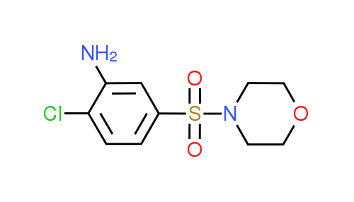 2-Chloro-5-(4-morpholinylsulfonyl)aniline