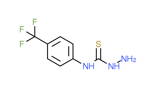 4-[4-(Trifluoromethyl)phenyl]-3-thiosemicarbazide