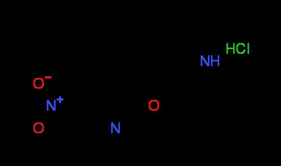 5-Nitro-2-(3-piperidinyloxy)pyridine hydrochloride
