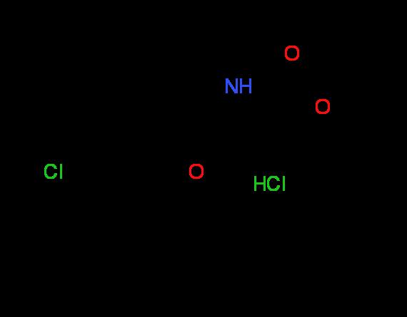 Methyl (2S,4S)-4-[2-(sec-butyl)-4-chlorophenoxy]-2^-pyrrolidinecarboxylate hydrochloride