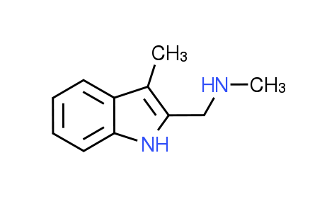 N-Methyl-1-(3-methyl-1H-indol-2-yl)methanamine