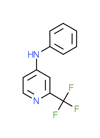 N-Phenyl-2-(trifluoromethyl)pyridin-4-amine
