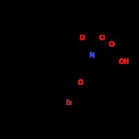 (2S,4S)-4-[2-Bromo-4-(sec-butyl)phenoxy]-1-(tert-butoxycarbonyl)-2-pyrrolidinecarboxylic acid