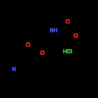 (3S,5S)-5-(Methoxycarbonyl)pyrrolidinylnicotinate^hydrochloride