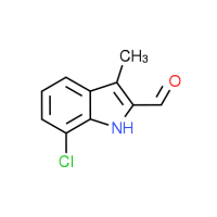 7-Chloro-3-methyl-1H-indole-2-carbaldehyde